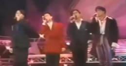 92年香港四大天王首同台视频,真正满分小鲜肉!